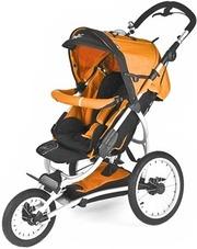 Детская трехколесная коляска CHIPOLINO TT с самыми большими колесами